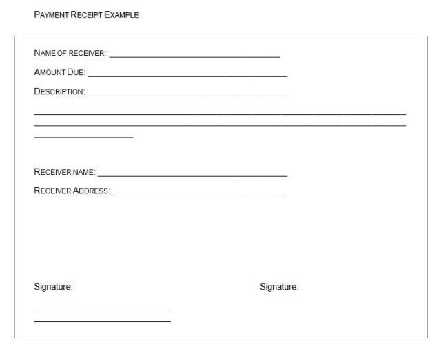 Blank Cash Receipt Template Cash Receipt Template To Use And Its Purposes The Free Cash Receipt Template Makes Free Receipt Template Receipt Template Words