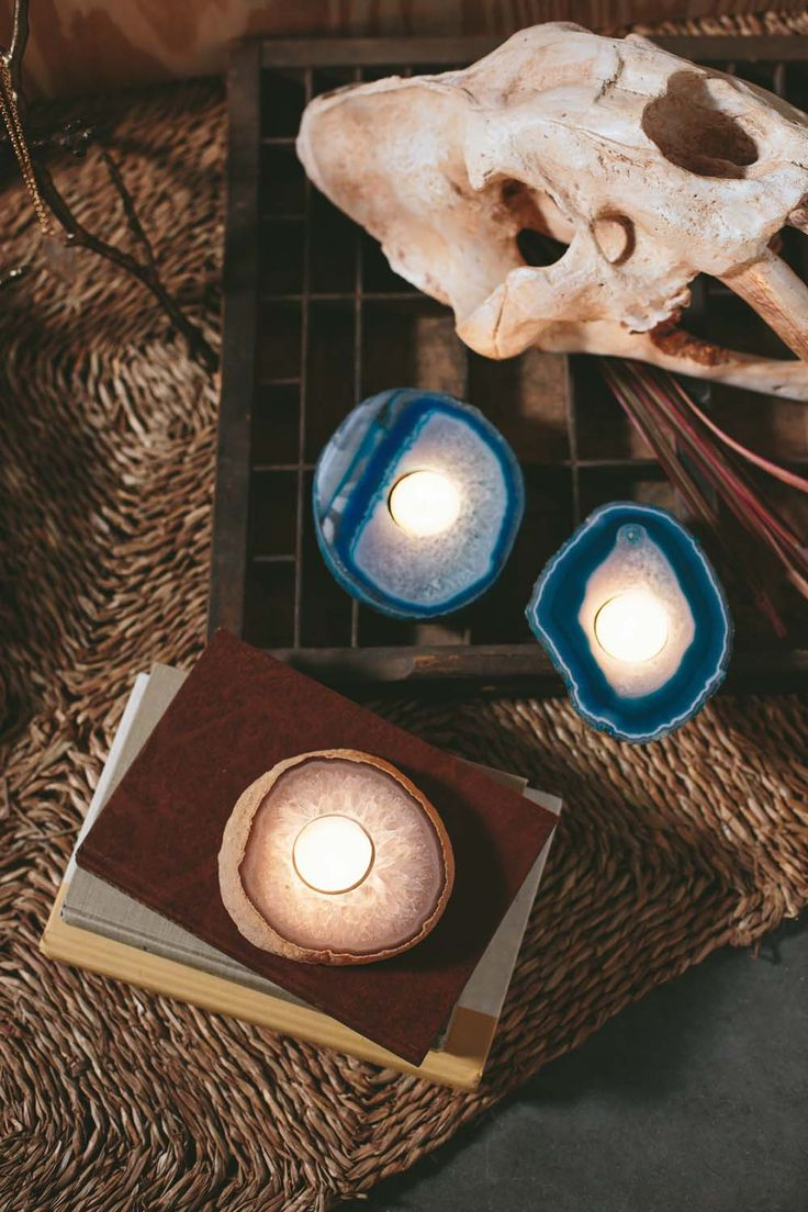 564 best earthbound trading company products images on pinterest agate slab candle holders