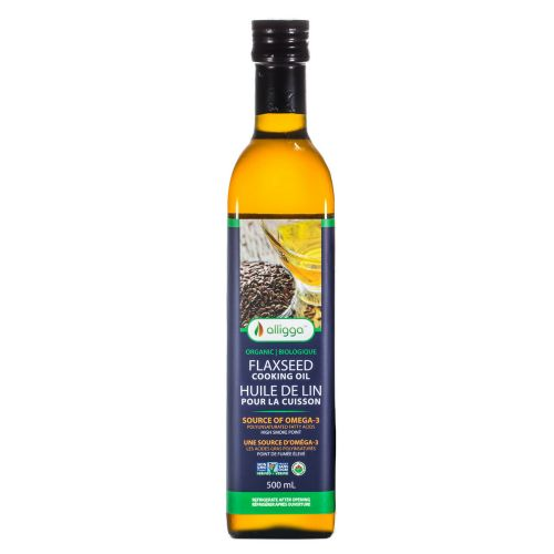 A flaxseed oil for cooking? @Alligga created one and wants you to sample it FREE via @socialnature
