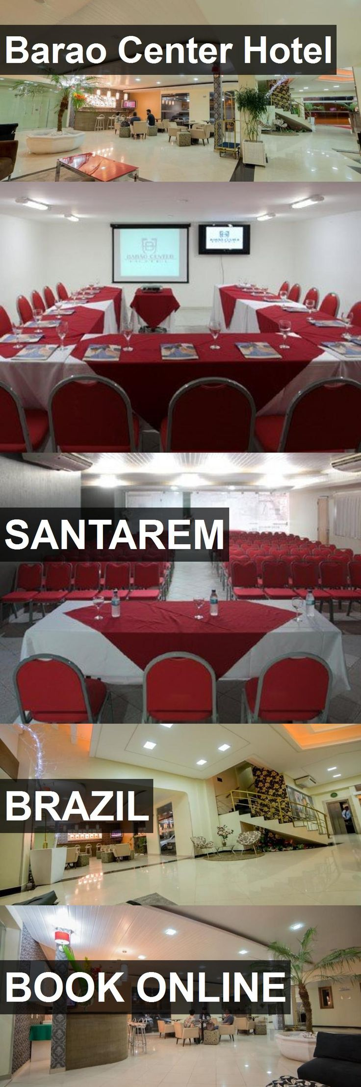 Hotel Barao Center Hotel in Santarem, Brazil. For more information, photos, reviews and best prices please follow the link. #Brazil #Santarem #BaraoCenterHotel #hotel #travel #vacation