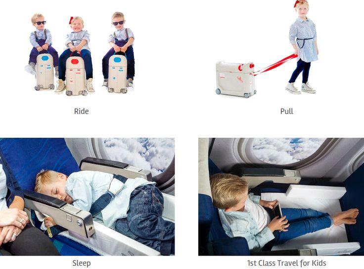 artigos de bebe e criança - esta Bedbox é o que todos os pais querem ter para que os seus filhos durmam confortávelmente nas viagens de avião. https://jet-kids.com/