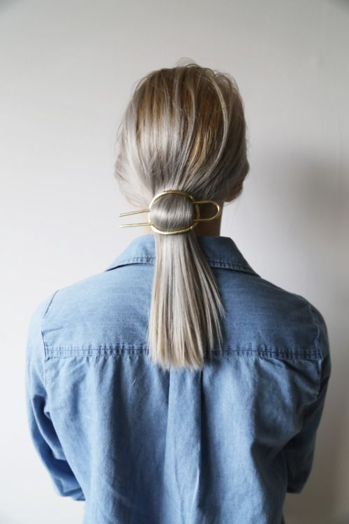 Great and simple hair-do. I am thinking to buy these hair clips:http://asos.do/xyj62Z and http://asos.do/iNLG53