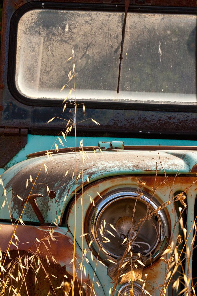 Old Jeep in the junkyard