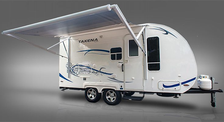 Takena Light Travel Trailer With Automatic Awning Travel