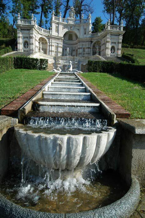 Italy, Gardens and Parks: Villa della Regina, Torino