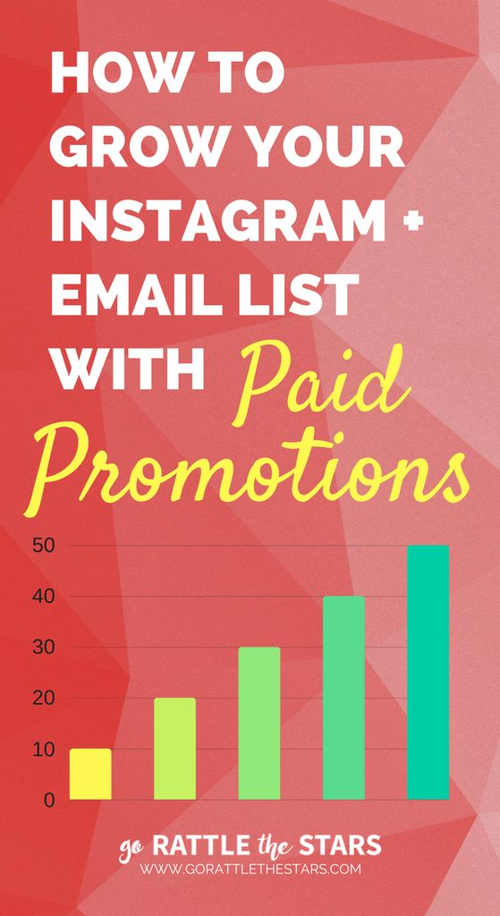 How to Grow Your Instagram and Email List with Paid Promotions, Shoutouts & Sponsored Posts | Influencer Marketing | List building | Social Media | Creative Business