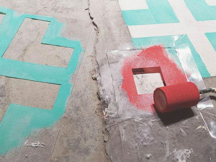 Floor-Street-Art-Javier-de-Riba-12Floors Street Art – Peindre du carrelage coloré dans des bâtiments abandonnés