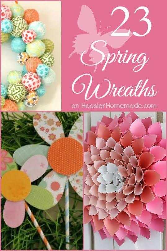 Diy Spring Decorating Ideas 132 best diy wreath ideas images on pinterest | wreath ideas, diy