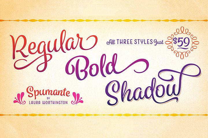 Download Spumante Family in 2020   Best script fonts, Free fonts ...