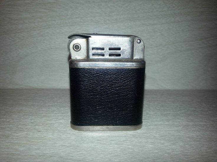 Vintage Leather Wrapped Beattie Jet Cigarette/Pipe Lighter Made in the USA #Beattie