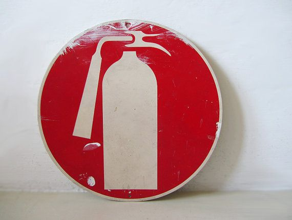 Vintage Plastic Sign by uhlalalebrocantage on Etsy