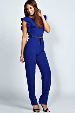 Cobalt Blue Jumpsuit Photo Album - Reikian