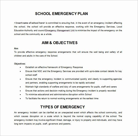 Incident Response Plan Template In 2020 With Images Emergency