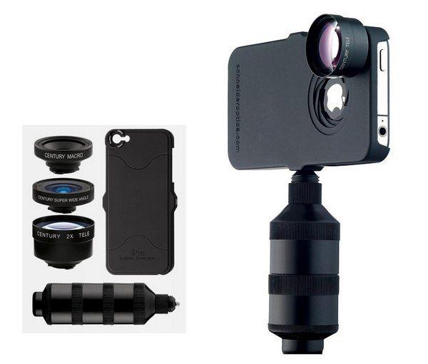 Компания Schneider Optics представила линейку линз iPro, разработанных специально для встроенной камеры смартфонов iPhone.