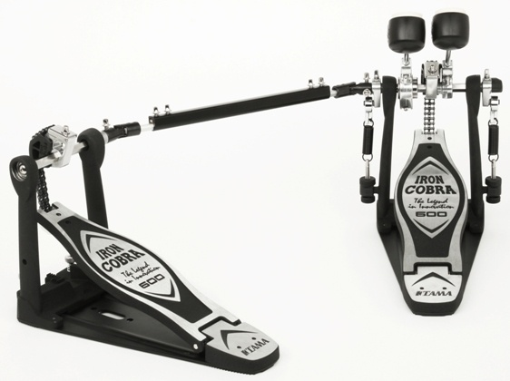 """Tama HP600DTW: The Iron Cobra 600 series is part of the new Iron Cobra family for 2013. Its most unique feature is a reversible cam. Called the """"Duo Glide Cam"""", it allows simple adjustment between a true round """"Rolling Glide"""" sprocket and an off-set """"Power Glide"""" sprocket. In addition, the Iron Cobra 600 series features a newly designed bearing hinge for precise footboard action, and the """"Speedo-Ring"""" rocker cam with a smooth ball bearing. #drums"""