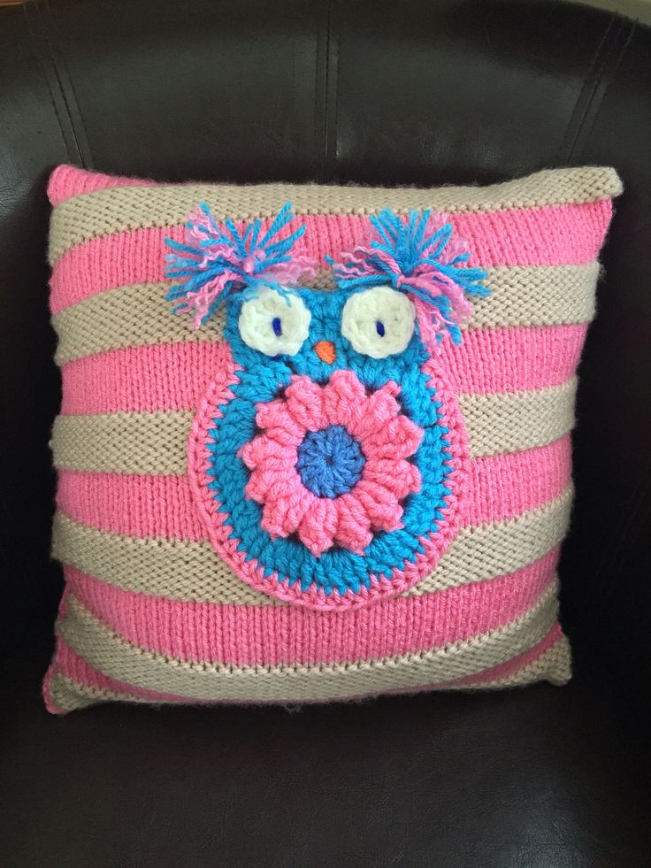 A personal favourite from my Etsy shop https://www.etsy.com/uk/listing/534857225/knitted-cushion-wool-couch-pillow-kissen