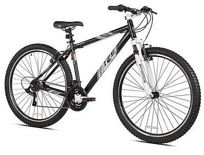 Mens Mountain Bike 29 Inch For Adults Kent Thruster Bicycles Cycling Sport Black1  Category - Bicycles, Gender - Men, Color - Black, Wheel Size - 29, Frame Size - 29, Type - Mountain Bike, UPC - 016751329406