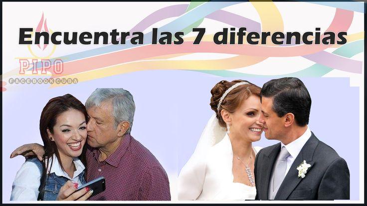 7 diferencias entre AMLO y Peña Nieto.