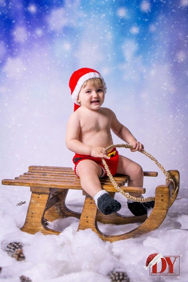 Sesiones Bebes en Navidad