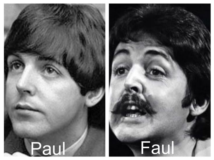 Paul vs faul pictures of wedding