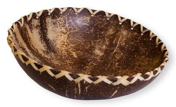 Polished Coconut Shell Bowl
