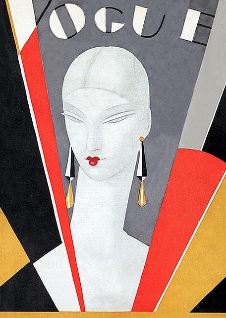 artdeco.quenalbertini: 1920s Deco Vogue Cover