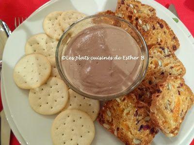 Les plats cuisinés de Esther B: Pâté de foie de volaille au porto