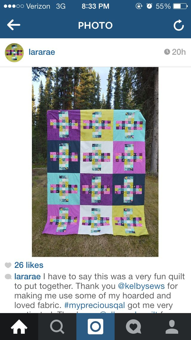 Love this great plus quilt!!