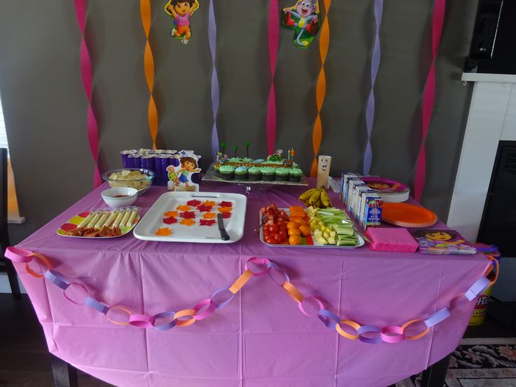 17 Best images about Dora birthday party on Pinterest  Birthday party ...