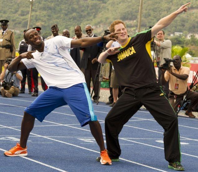 Usain Bolt: Prince Harry Can Be My Wingman At Olympics