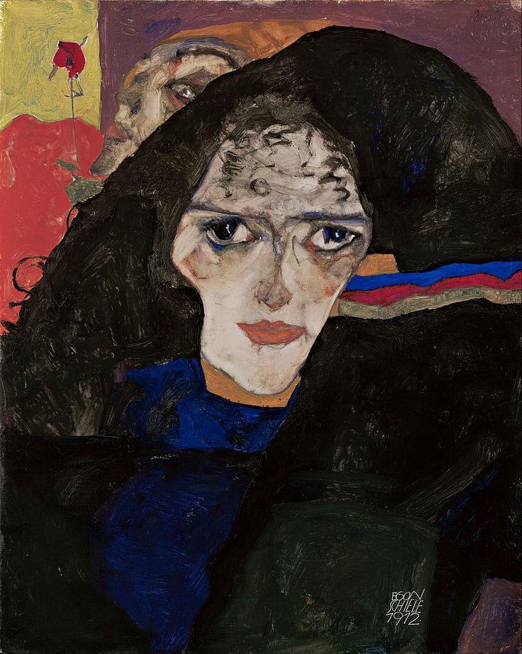 'Mourning Woman', 1912 - Egon Schiele