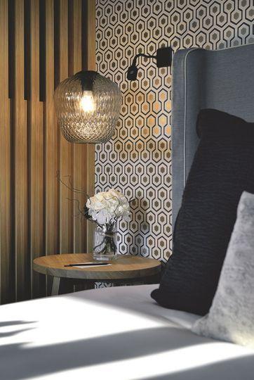 Chambre de l'hôtel Balthazar à Rennes - Tendances déco dans l'ouest de la France - CôtéMaison.fr