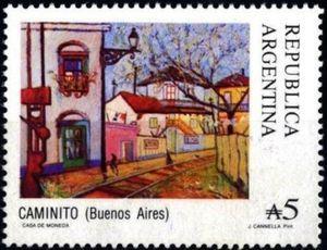 Sello: Caminito (Argentina) (Tourism) Mi:AR 1911