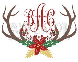 Holiday cut files and printable clipart in SVG, EPS, DXF, PNG, and JPEG format for Cricut, Silhouette, and Brother ScanNCut Cutting Machines
