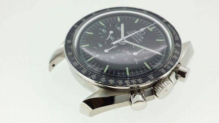 Omega Speedmaster Moonwatch 1974. Before & After: full restoration by László Hantos