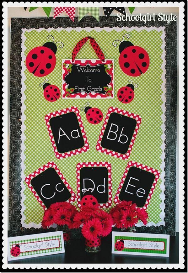 Ladybug Classroom Decoration Ideas ~ Schoolgirl style ladybug theme classroom ideas