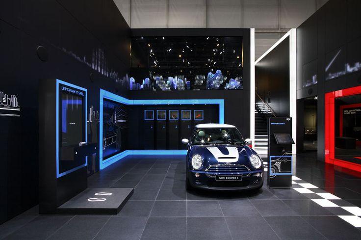 Exhibition Stand Lighting Vehicles : Mini exhibition stand motor show geneva design