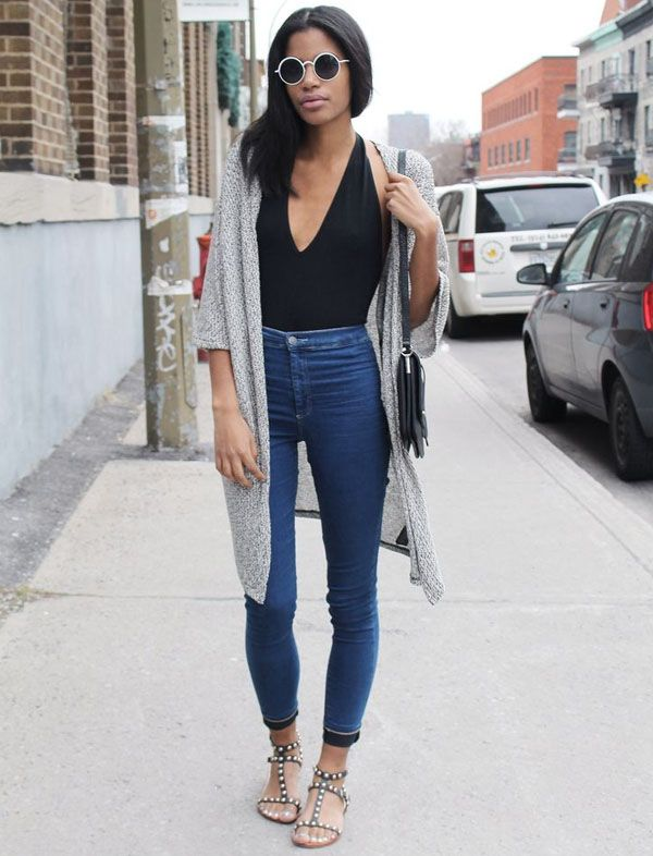 street-style-look-body-preto-e-calca-cintura-alta:
