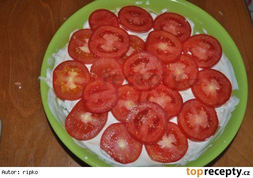 37 Rajčatový skládaný salát