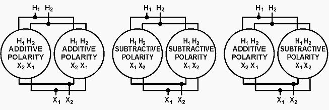 Paralleling single phase transformers