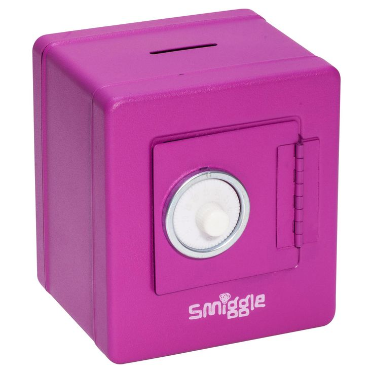 Image for Safe Moneybox Tin from Smiggle UK