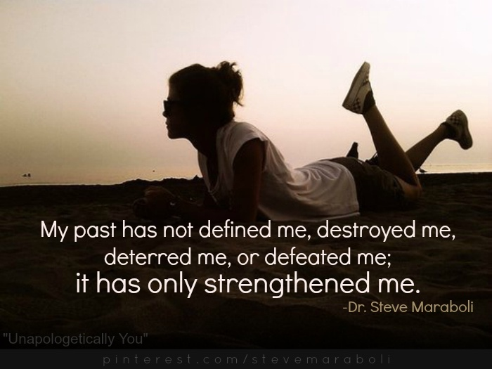 ...it has only strengthened me. #quote Steve Maraboli