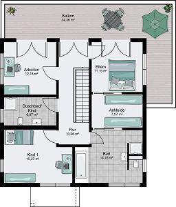 Fertighaus grundrisse doppelhaus  83 besten Home | Grundrisse /// Floor Plans Bilder auf Pinterest ...