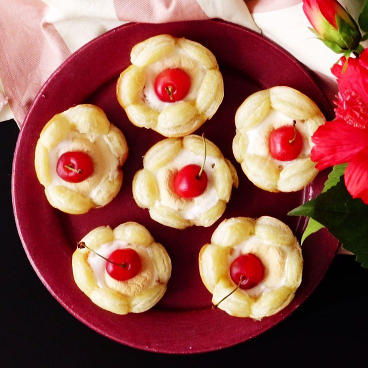 No hibiscus flowers were harmed in the making of this dessert.