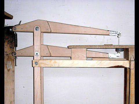 самодельный лобзиковый станок с регулятором хода пилки - YouTube