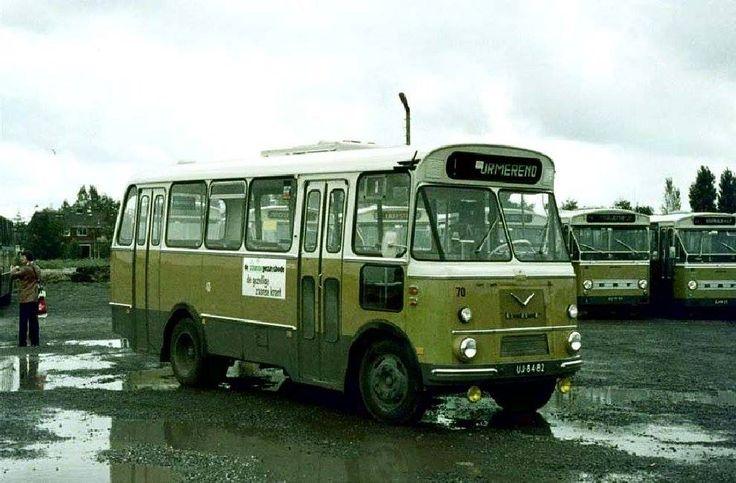 ENHABO, Landsmeer bus 70 DAF Verheul uit 1966