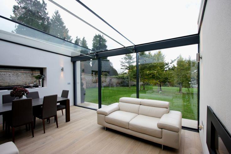 71 best c o n s e r v a t o r y images on pinterest for Sliding glass doors extension