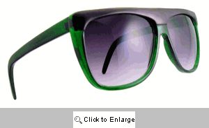 Cruiser Straight Bridge Sunglasses - 242 Green