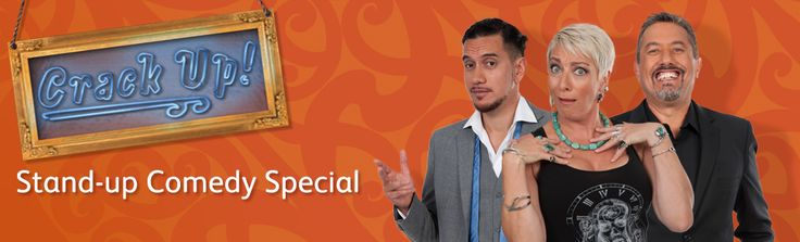 Māori TV stand-up comedy series, Crack Up.