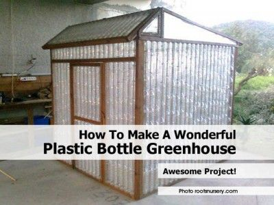 plastic bottle greenhouse instructions